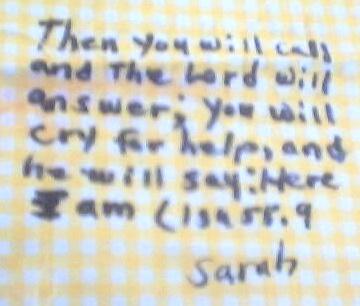 sarah's square